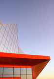Modern architecture. Building in high-tech style Royalty Free Stock Image