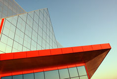 Modern architecture. Building in high-tech style royalty free stock photo