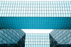 Modern architecture in the business district of La Defense, Pari Royalty Free Stock Images