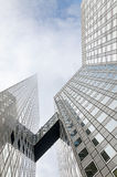 Modern architecture in the business district of La Defense, Pari Royalty Free Stock Photos