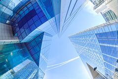 Modern architecture in the business district of La Defense, Pari Royalty Free Stock Photography
