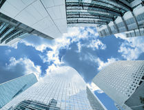 Modern architecture in the business district of La Defense, Pari Stock Images