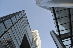 Modern Architecture Canary Wharf Skyline London Royalty Free Stock Photos