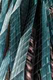 Modern architecture,windows and reflection Royalty Free Stock Photo