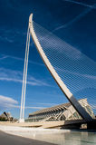 Modern architecture in the  City of Arts and Sciences, Valencia Stock Image