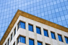 Modern Architecture Close-up. Close-up on modern office building architecture details Royalty Free Stock Photos