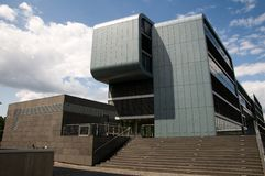 Modern architecture in Cologne. A new modern building, in Cologne Royalty Free Stock Photo