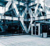 Modern architecture at the Convention Center in Baltimore, Maryl Stock Photo