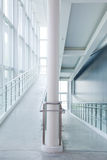 Modern architecture corridor Royalty Free Stock Photo