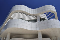 Modern architecture of curved building Stock Images