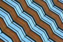 Modern Architecture Design. Diagonally shot royalty free stock image