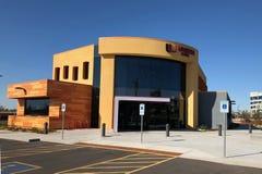 Modern Design of a bank in Gilbert Arizona. Modern Architecture design of bank in Arizona Stock Images