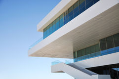 Modern architecture detail Royalty Free Stock Photography