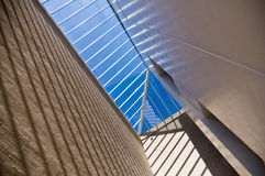 Modern architecture detail Royalty Free Stock Photo