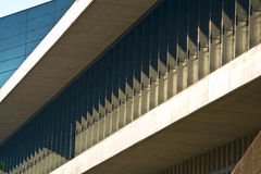Modern architecture detail Stock Image
