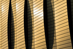 Modern architecture detail Royalty Free Stock Image