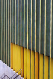 Modern architecture detail. Modern architecture on the Nottingham Contemporary gallery Royalty Free Stock Images
