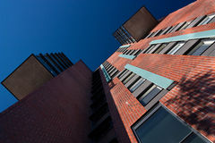 Modern architecture detail upward Stock Photo