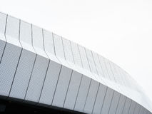 Modern Architecture details Metal facade design Pattern Royalty Free Stock Photos