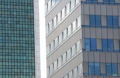 Modern architecture details, Warsaw, Poland Stock Image