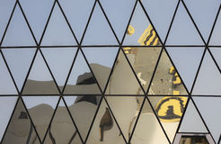 Modern architecture in Doha, detail Royalty Free Stock Photo