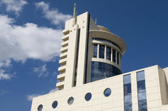 Modern architecture of Donetsk Stock Images