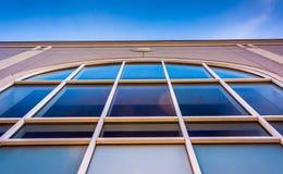 Modern architecture in downtown York, Pennsylvania. Royalty Free Stock Photo