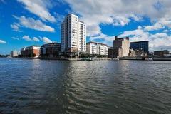 Modern Architecture Dublin modern architecture of dublin docklands area stock photo - image