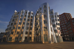 Modern architecture, Dusseldorf Royalty Free Stock Photography
