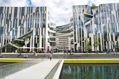 Modern architecture Dusseldorf Stock Photography