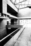 Modern architecture in the East Building of the National Gallery Royalty Free Stock Photo