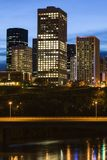 Modern architecture of Edmonton Stock Photography