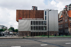 Modern architecture education building in Rotterdam Stock Images