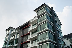 Modern architecture exterior Stock Image