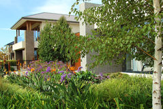 Modern architecture exterior details Stock Photo