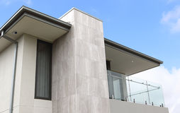 Modern architecture exterior details Stock Photography