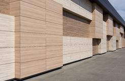 Modern architecture facade detail Royalty Free Stock Photos