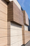 Modern architecture facade detail Stock Image