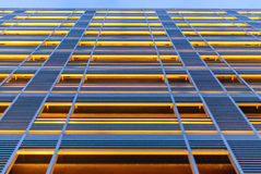 Modern architecture facade with vertical lines Stock Photography