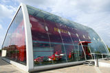 Modern architecture of Ferrari Store Royalty Free Stock Photo