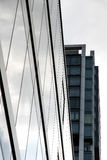Modern Architecture in Frankfurt am Main Royalty Free Stock Image