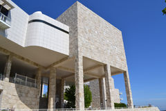 Modern Architecture at the Getty Center Royalty Free Stock Photo
