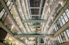 Modern architecture glass building,guangzhou library Stock Images