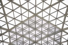 Free Modern Architecture Glass Triangle Window Or Roof Building Dome Royalty Free Stock Images - 151604279