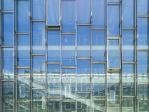 Modern Architecture Glass wall Building Abstract background Stock Photography