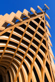 Modern Architecture in Glued Laminated Timber Stock Image