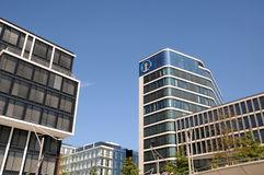 Modern architecture in Hamburg Stock Photo