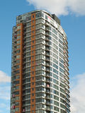 Modern architecture highrise Royalty Free Stock Photos