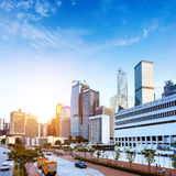 Modern architecture in Hong Kong Royalty Free Stock Photos