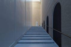 Modern architecture inside the New Carlsberg Glyptotek in Copenhagen Royalty Free Stock Images